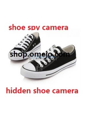 Hidden Men Shoe Hidden CCD 480TVL HR DVR Camera Recorder With 2.5 inch LCD Screed