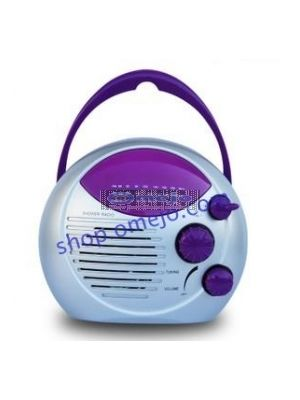 Shower Radio Hidden Camera Waterproof Motion Detection and Remote Control 32GB