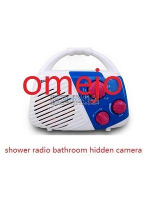 Shower Radio Hidden Spy Camera Waterproof Camera DVR 32GB 1280x720